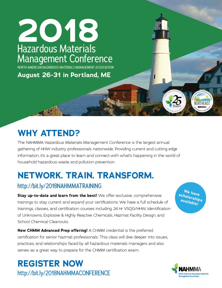 North American Hazardous Materials Management Asso Meetingevent